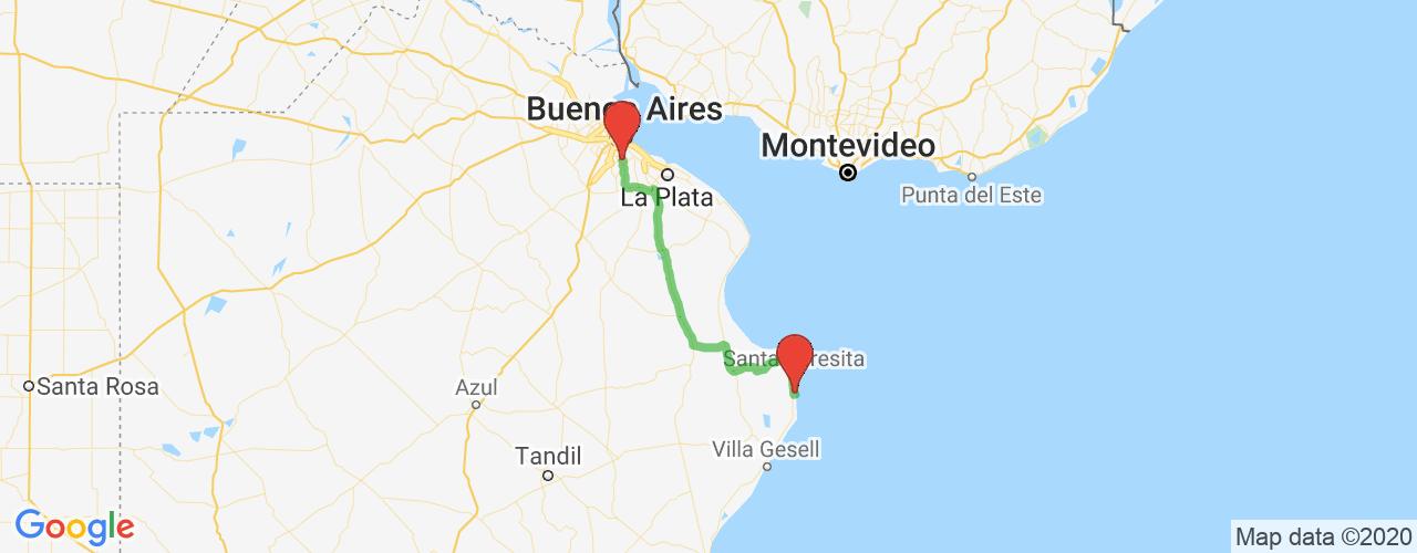 Comprar pasajes saliendo de Adrogué a San Bernardo. Pasajes baratos a San Bernardo en bus precio y horario desde Adrogué.