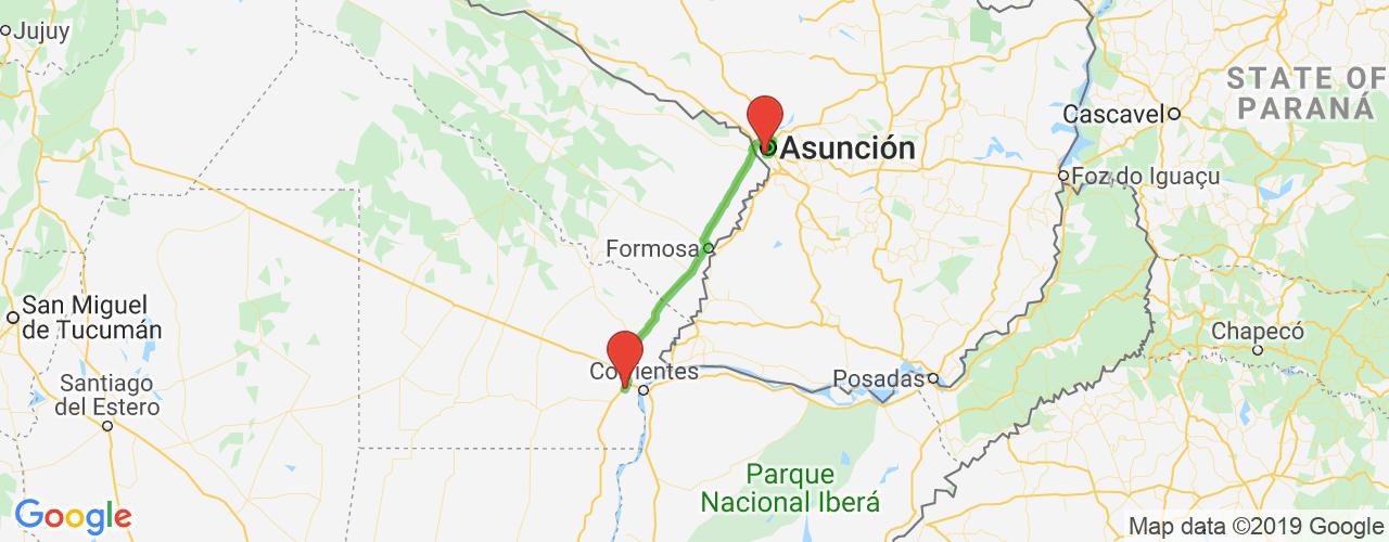 Comprar pasajes de Asunción a Resistencia en micro. Pasajes baratos a Resistencia en bus desde Asunción, Paraguay.