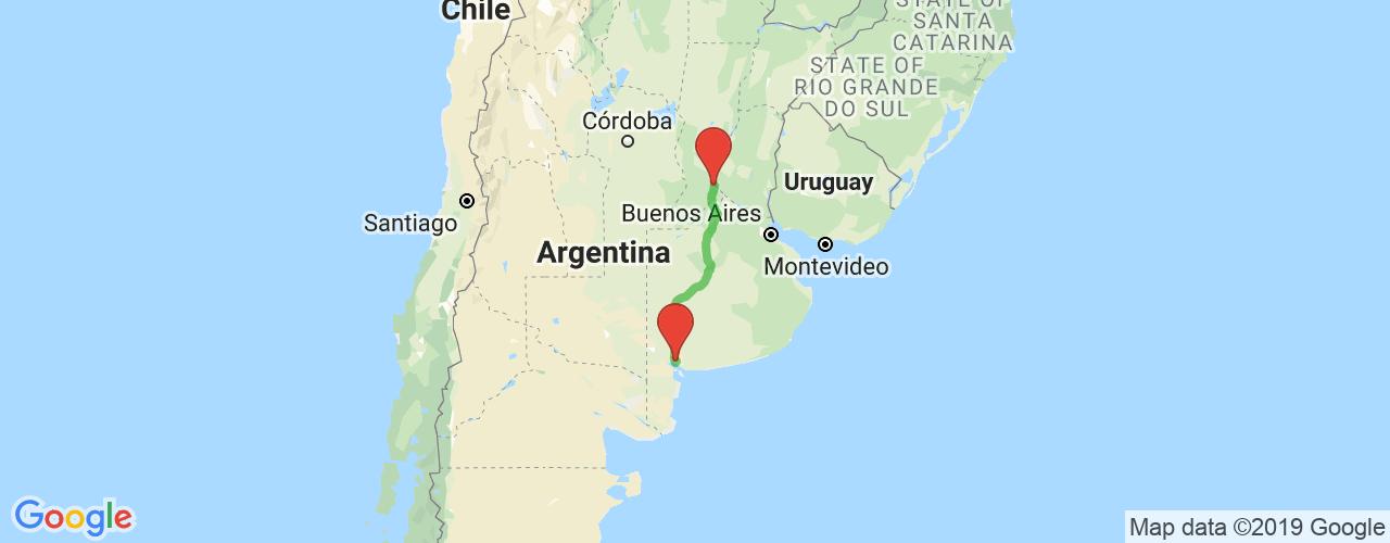 Comprar pasajes de Bahía Blanca a Rosario en micro. Pasajes baratos a Rosario en bus desde Bahía Blanca.