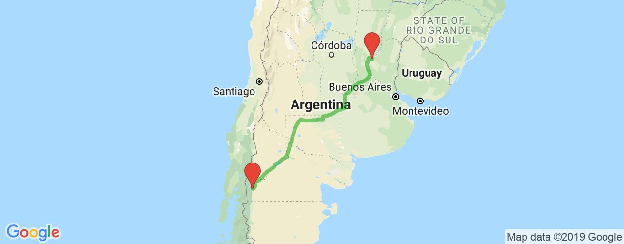 Comprar pasajes saliendo de Bariloche a Paraná. Pasajes baratos a Paraná en bus, precio y horario desde Bariloche.