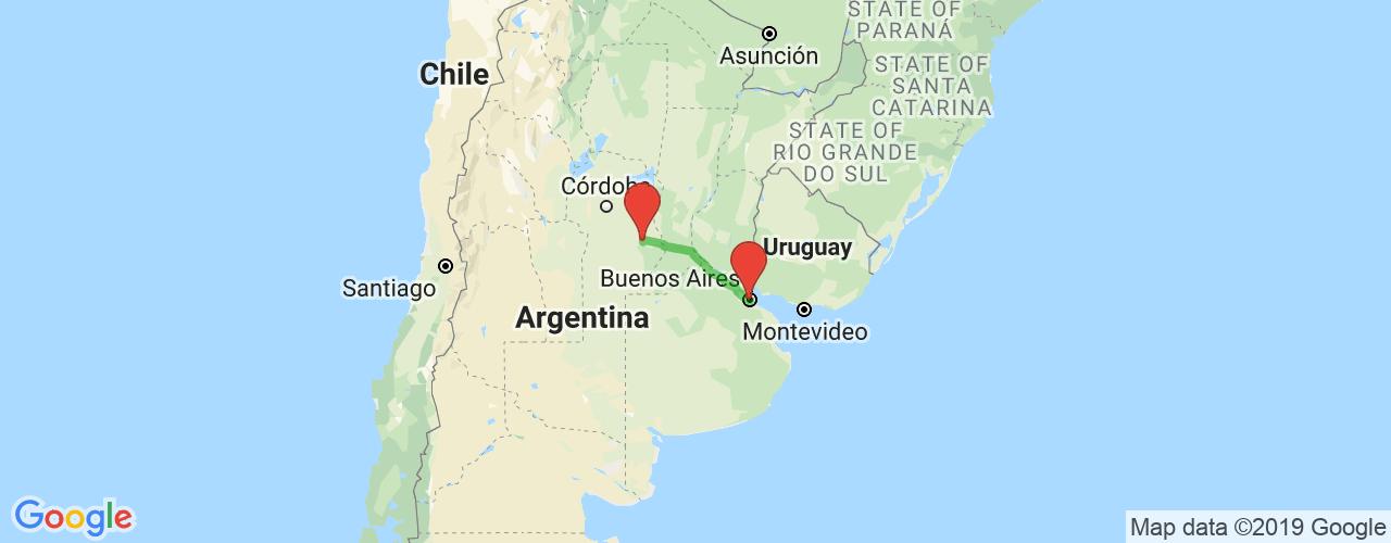 Comprar pasajes saliendo de Buenos Aires a Bell Ville. Pasajes baratos a Bell Ville en bus precio y horario desde Buenos Aires.