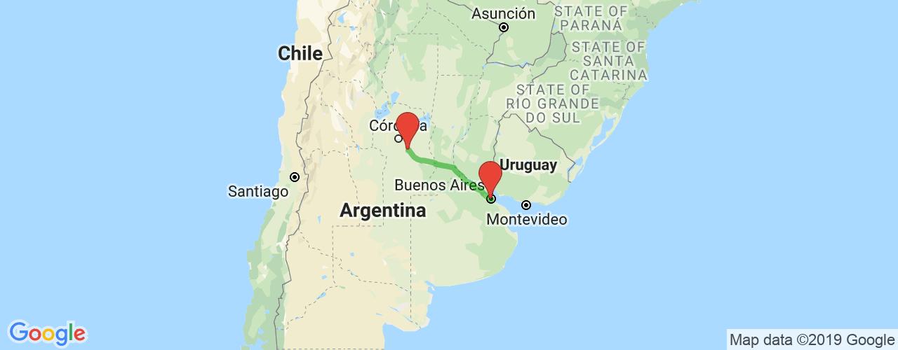 Comprar pasajes saliendo de Buenos Aires a Oliva. Pasajes baratos a Oliva en bus precio y horario desde Buenos Aires.