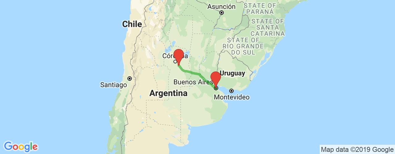 Comprar pasajes saliendo de Buenos Aires a Oncativo. Pasajes baratos a Oncativo en bus precio y horario desde Buenos Aires.