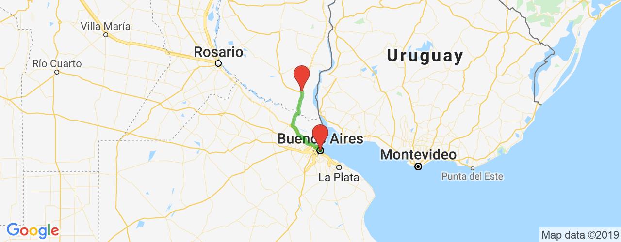 Comprar pasajes saliendo de Buenos Aires a Parador Ceibas. Pasajes baratos a Parador Ceibas en bus precio y horario desde Buenos Aires.