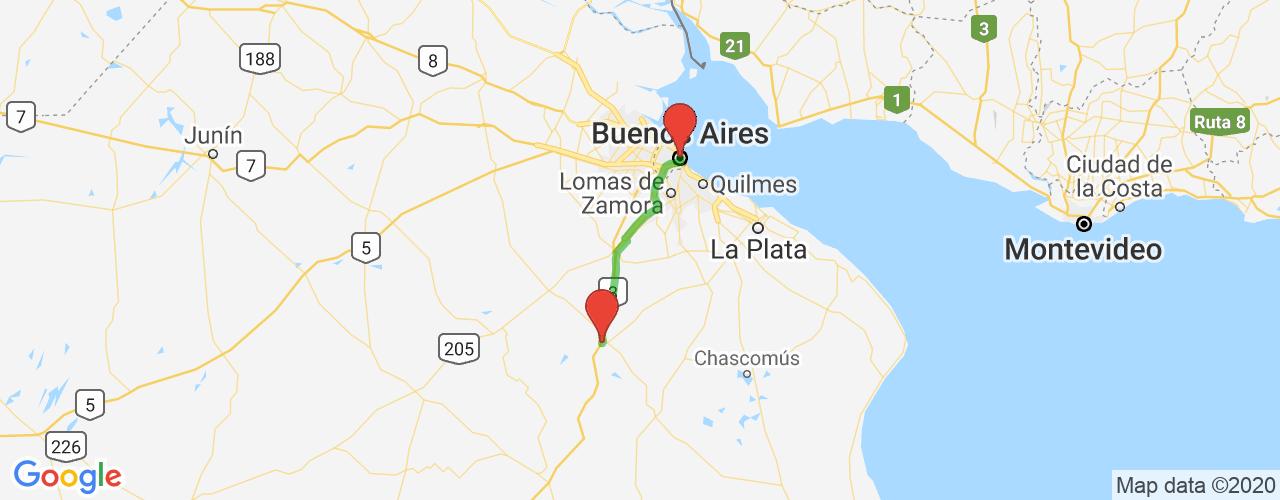 Comprar pasajes saliendo de Buenos Aires, Retiro a San Miguel del Monte. Pasajes baratos a San Miguel del Monte en bus precio y horario desde Buenos Aires, Retiro