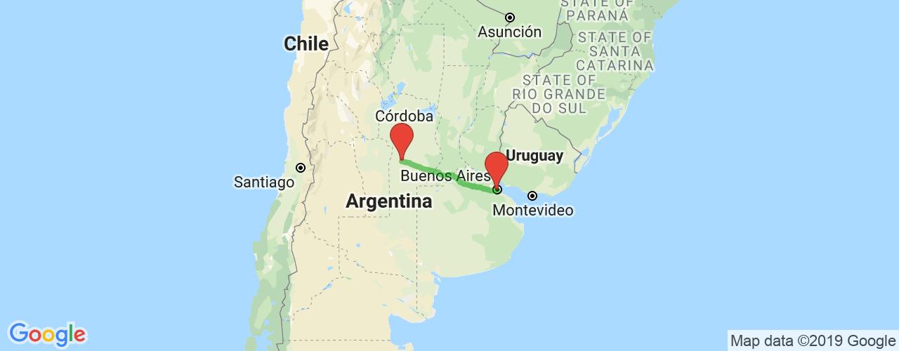 Comprar pasajes saliendo de Buenos Aires a Río Cuarto. Pasajes baratos a Río Cuarto en bus precio y horario desde Buenos Aires.