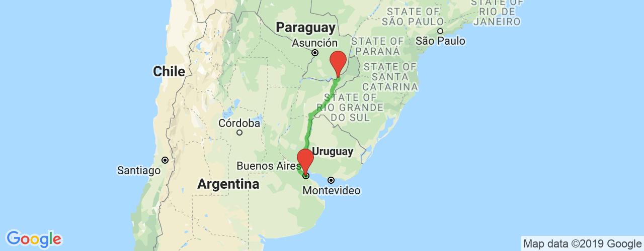 Comprar pasajes saliendo de Buenos Aires a San Ignacio. Pasajes baratos a San Ignacio en bus precio y horario desde Buenos Aires.