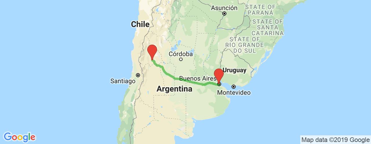 Comprar pasajes saliendo de Buenos Aires a San Juan. Pasajes baratos a San Juan en bus precio y horario desde Buenos Aires.