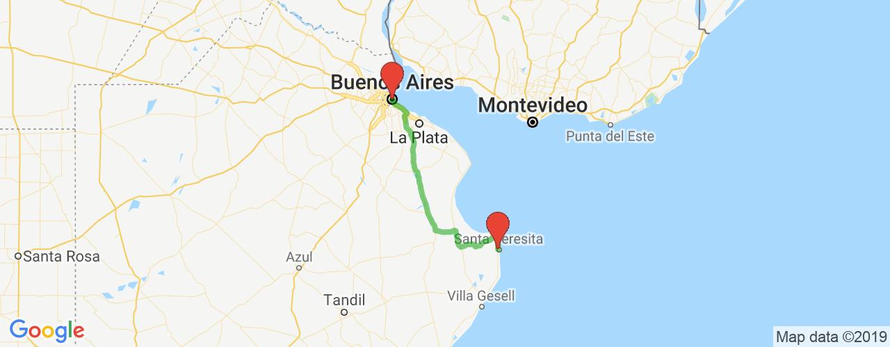 Comprar pasajes saliendo de Buenos Aires a Santa Teresita. Pasajes baratos a Santa Teresita en bus precio y horario desde Buenos Aires.