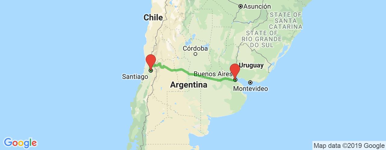 Comprar pasajes saliendo de Buenos Aires a Santiago (Chile). Pasajes baratos a Santiago de Chile en bus precio y horario desde Buenos Aires.