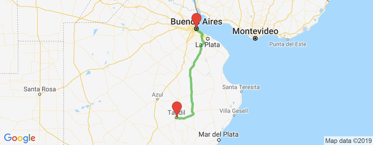 Comprar pasajes saliendo de Buenos Aires a Tandil. Pasajes baratos a Tandil en bus precio y horario desde Buenos Aires.