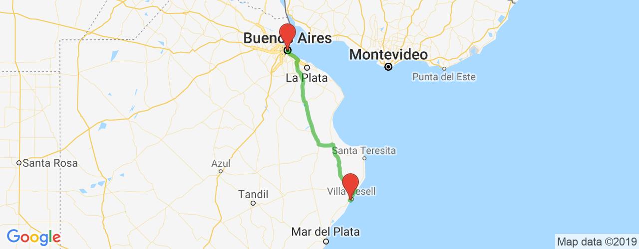 Comprar pasajes saliendo de Buenos Aires a Villa Gesell. Pasajes baratos a Villa Gesell en bus precio y horario desde Buenos Aires.