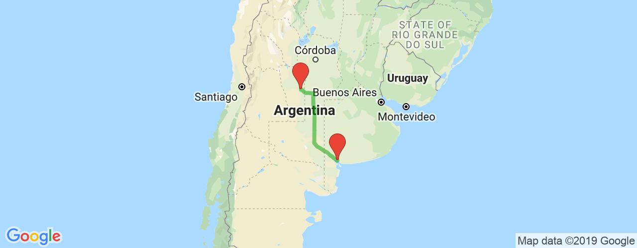 Comprar pasajes saliendo de Buenos Aires a Villa Mercedes. Pasajes baratos a Villa Mercedes en bus precio y horario desde Buenos Aires.
