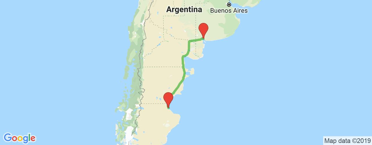 Comprar pasajes saliendo de Caleta Olivia a Bahía Blanca. Pasajes baratos a Bahía Blanca en bus precio y horario desde Caleta Olivia.
