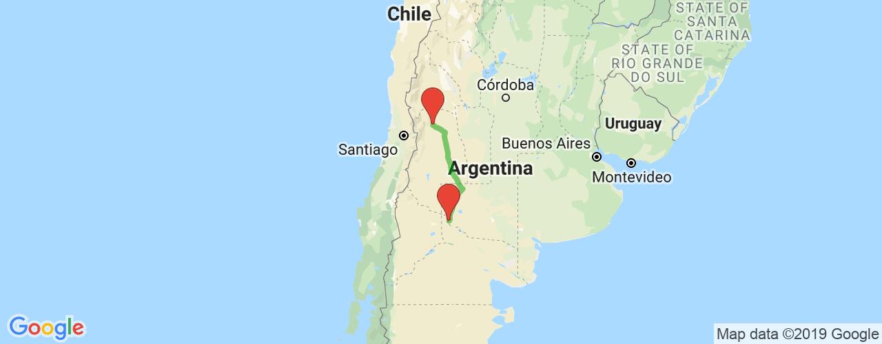 Comprar pasajes saliendo de Catriel a Mendoza. Pasajes baratos a Mendoza en bus precio y horario desde Catriel.