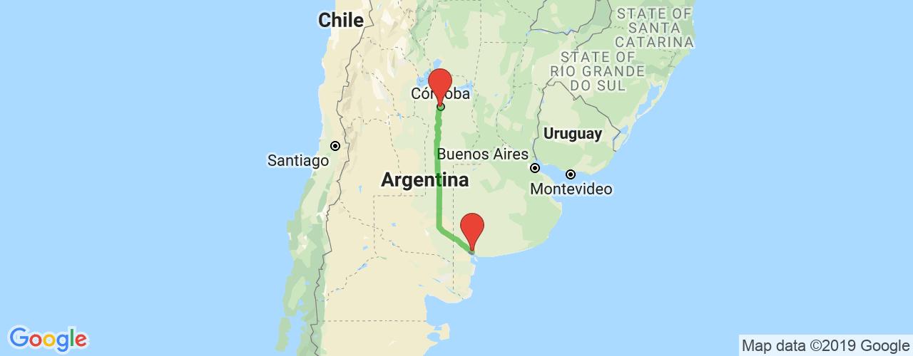 Comprar pasajes saliendo de Córdoba a Bahía Blanca. Pasajes baratos a Córdoba en bus precio y horario desde Bahía Blanca.