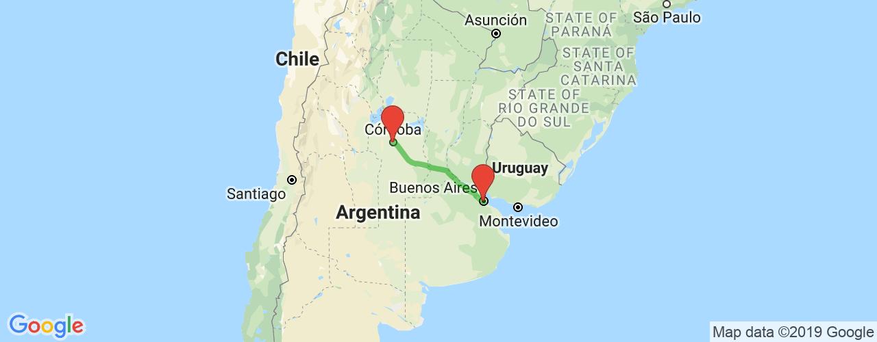 Comprar pasajes saliendo de Córdoba a Buenos Aires. Pasajes baratos a Buenos Aires en bus precio y horario desde Córdoba.
