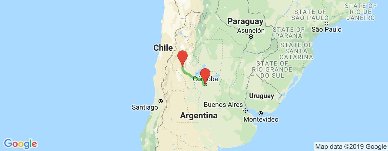 Comprar pasajes saliendo de Córdoba a Chilecito. Pasajes baratos a Chilecito en bus precio y horario desde Córdoba.