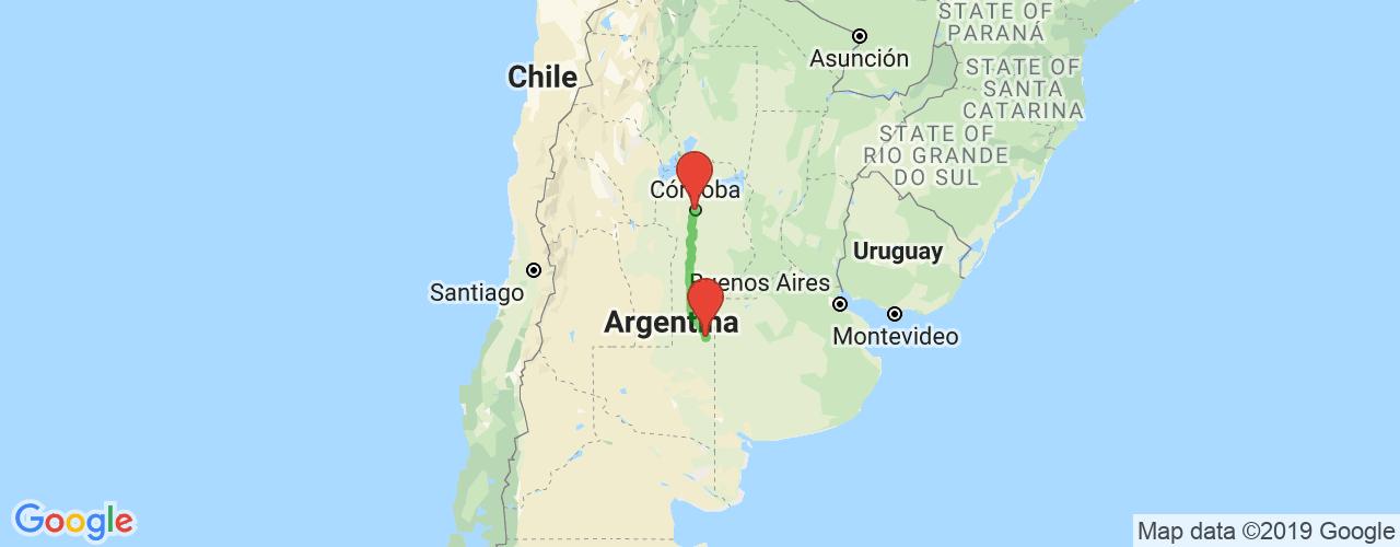 Comprar pasajes saliendo de Córdoba a General Pico. Pasajes baratos a General Pico en bus precio y horario desde Córdoba.