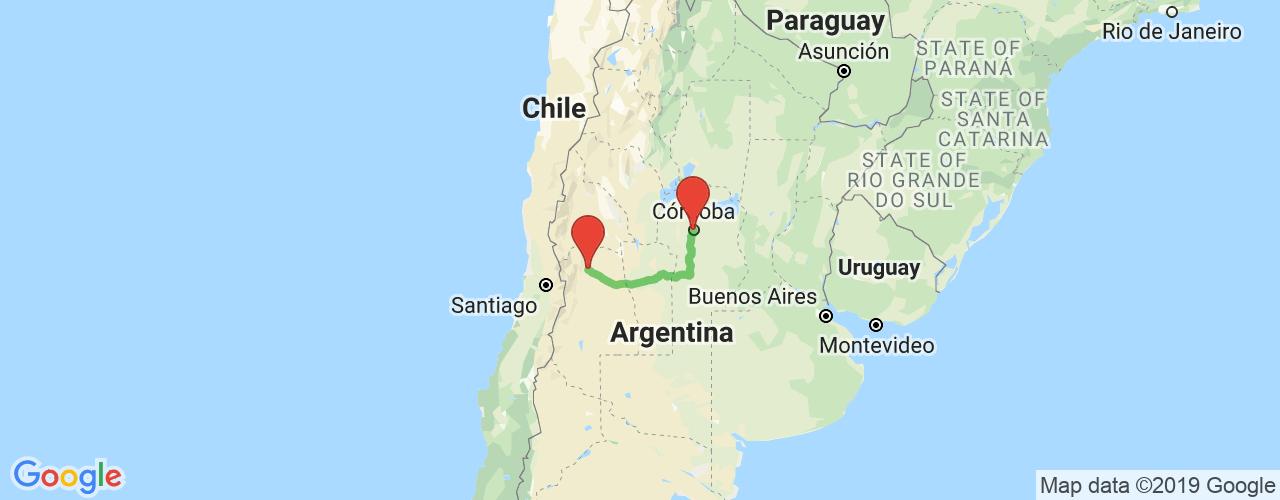 Comprar pasajes saliendo de Córdoba a Mendoza. Pasajes baratos a Mendoza en bus precio y horario desde Córdoba.