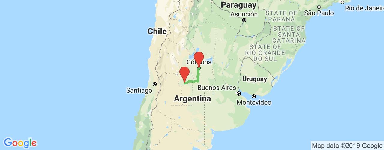 Comprar pasajes saliendo de Córdoba a San Luis. Pasajes baratos a San Luis en bus precio y horario desde Córdoba.