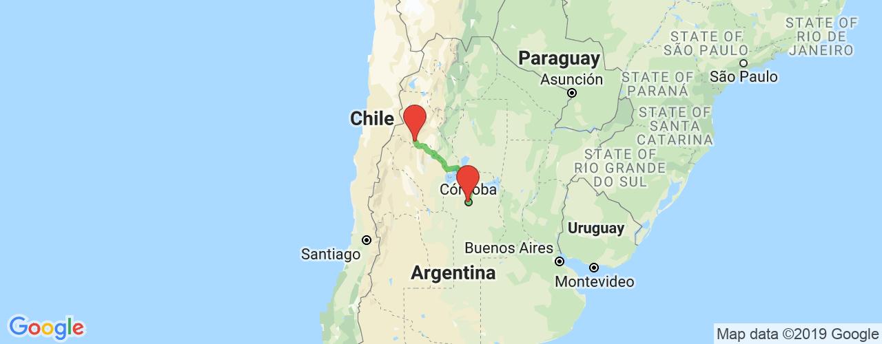 Comprar pasajes saliendo de Córdoba a Tinogasta. Pasajes baratos a Tinogasta en bus precio y horario desde Córdoba.