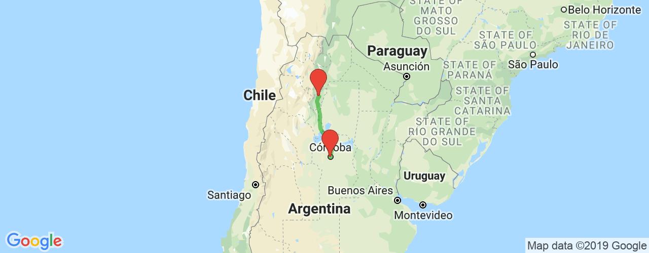 Comprar pasajes saliendo de Córdoba a Tucumán. Pasajes baratos a San Miguel de Tucumán en bus precio y horario desde Córdoba.
