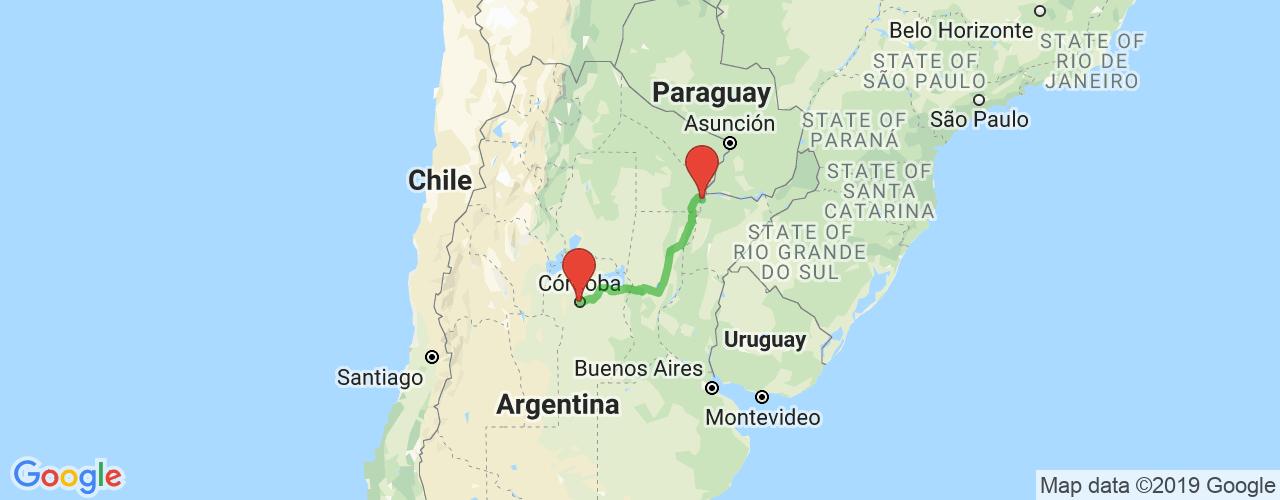 Comprar pasajes saliendo de Corrientes a Córdoba. Pasajes baratos a Córdoba en bus precio y horario desde Corrientes.