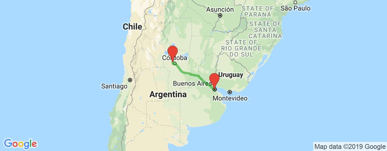 Comprar pasajes saliendo de Cosquín a Buenos Aires. Pasajes baratos a Buenos Aires en bus precio y horario desde Córdoba.
