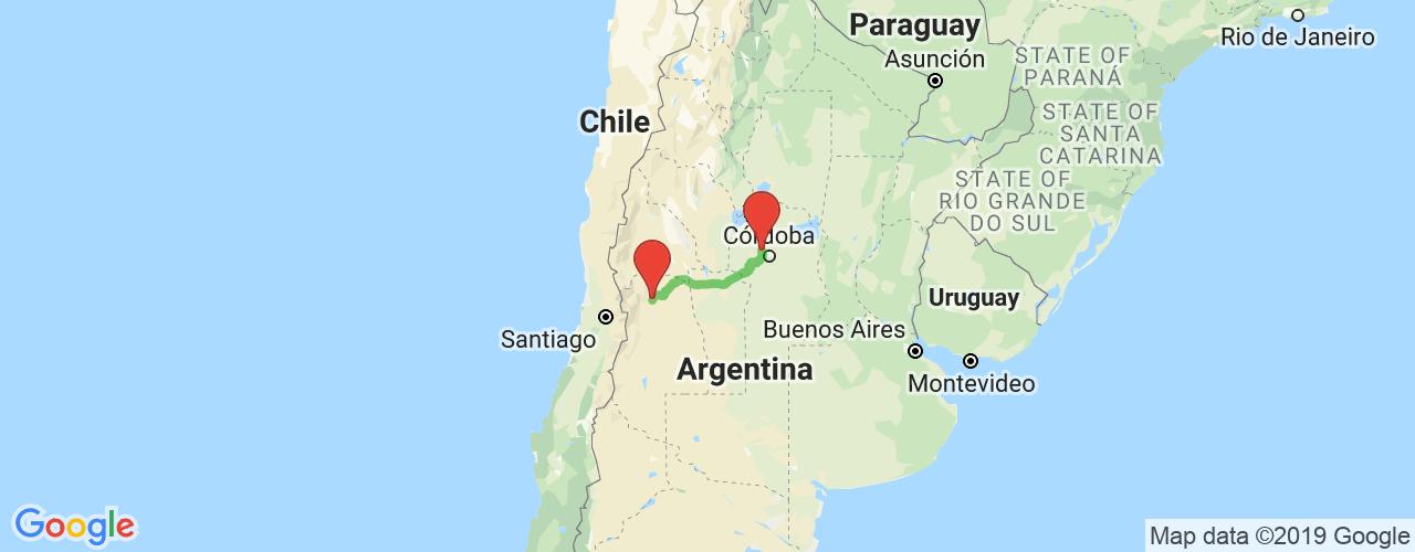 Comprar pasajes saliendo de Cosquín a Mendoza. Pasajes baratos a Mendoza en bus precio y horario desde Cosquín.