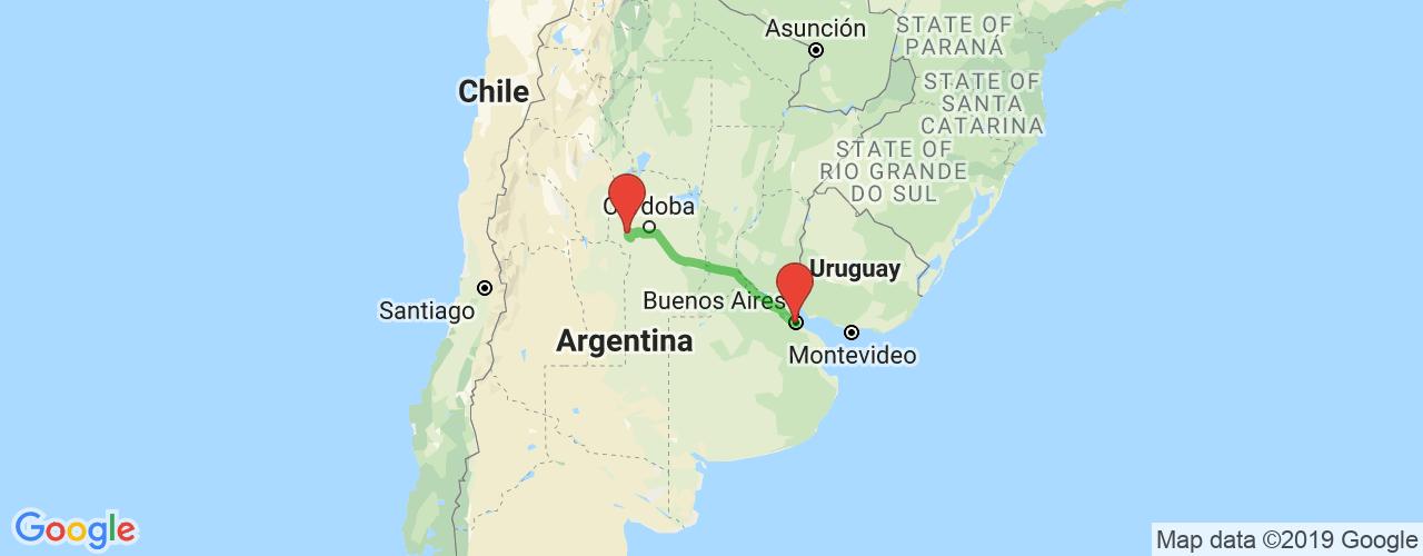 Comprar pasajes saliendo de Cura Brochero a Buenos Aires. Pasajes baratos a Buenos Aires en bus precio y horario desde Cura Brochero.