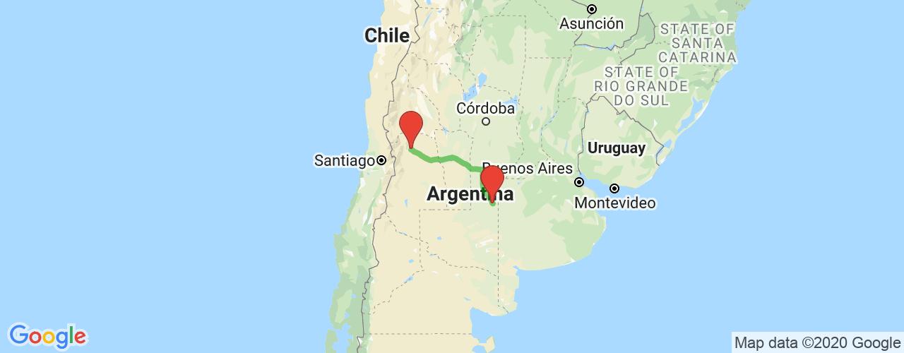Comprar pasajes saliendo de General Pico a Mendoza. Pasajes baratos a Mendoza en bus precio y horario desde General Pico.