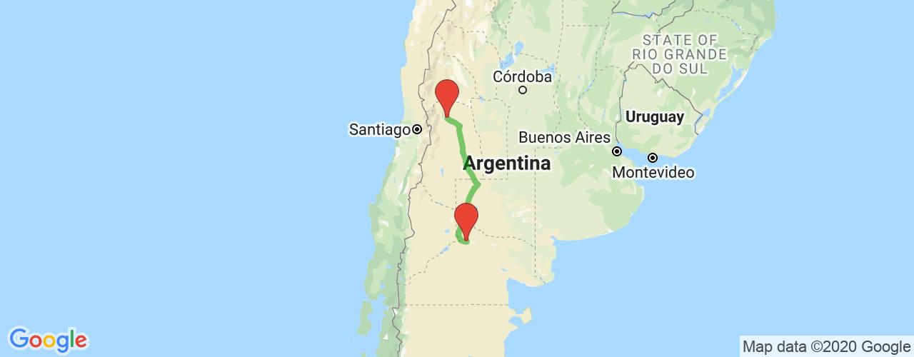 Comprar pasajes saliendo de General Roca a Mendoza. Pasajes baratos a Mendoza en bus precio y horario desde General Roca.