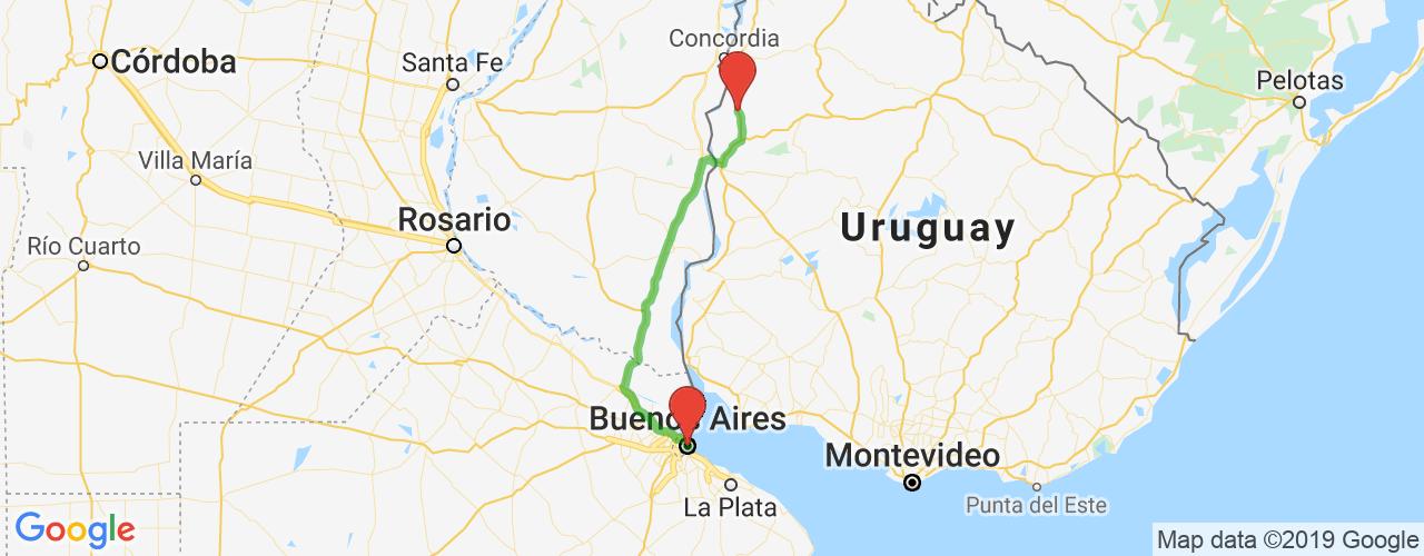 Comprar pasajes de Guaviyú  a Buenos Aires en micro. Pasajes baratos a Buenos Aires en bus desde Guaviyú, Uruguay.
