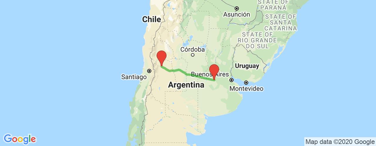 Comprar pasajes saliendo de Junín a Mendoza. Pasajes baratos a Mendoza en bus precio y horario desde Junín.