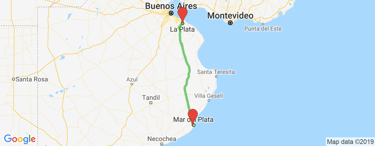 Buses From La Plata To Mar Del Plata Ticket Online