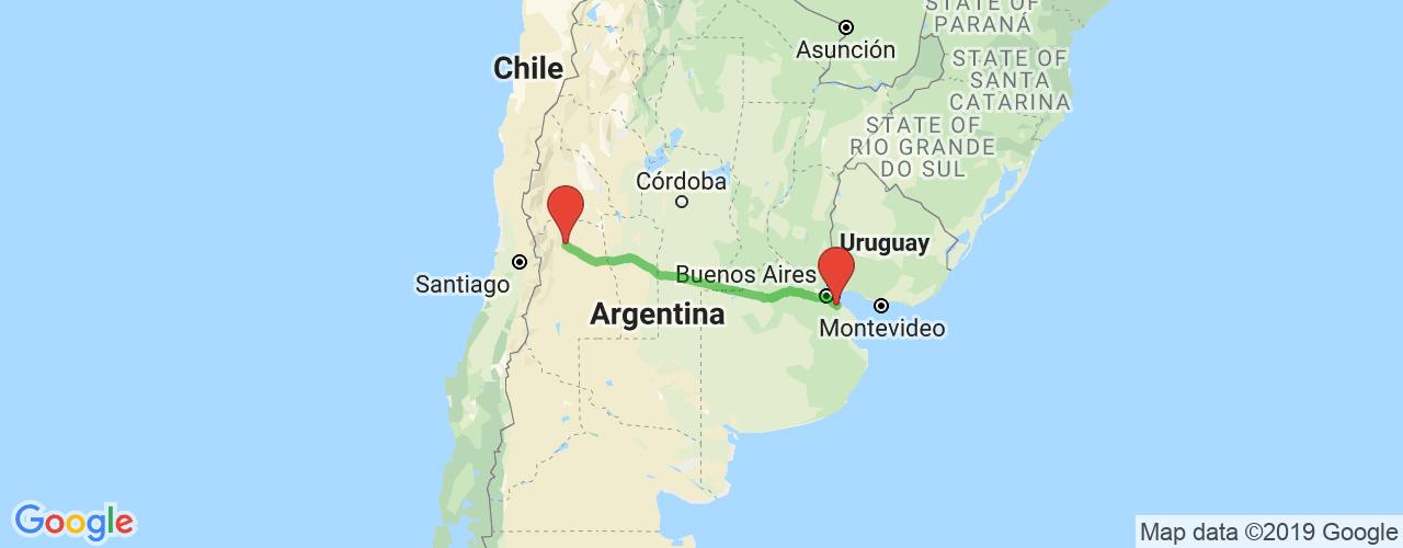 Comprar pasajes saliendo de La Plata a Mendoza. Pasajes baratos a Mendoza en bus precio y horario desde La Plata.