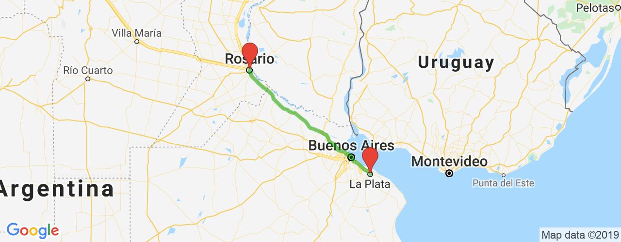 Comprar pasajes saliendo de La Plata a Rosario. Pasajes baratos a Rosario en bus precio y horario desde La Plata.