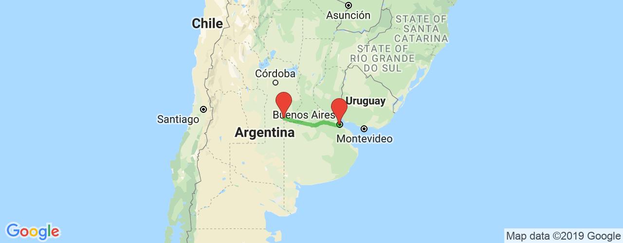 Comprar pasajes saliendo de Laboulaye a Buenos Aires. Pasajes baratos a Buenos Aires en bus precio y horario desde Laboulaye.