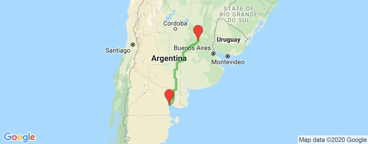 Comprar pasajes saliendo de Las Grutas a Rosario. Pasajes baratos a Rosario en bus precio y horario desde Las Grutas.