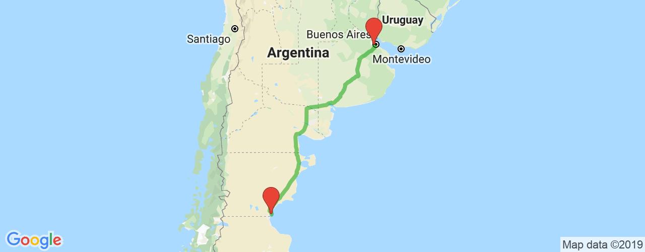 Pasajes baratos de micro de Liniers a Comodoro Rivadavia. Los mejores precios desde Liniers, Buenos Aires a Comodoro Rivadavia.