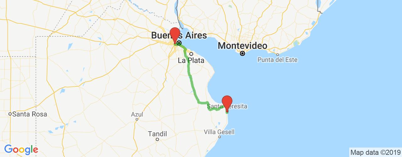 Comprar pasajes saliendo de Liniers a Mar del Tuyú. Pasajes baratos a Mar del Tuyú en bus precio y horario desde Liniers.