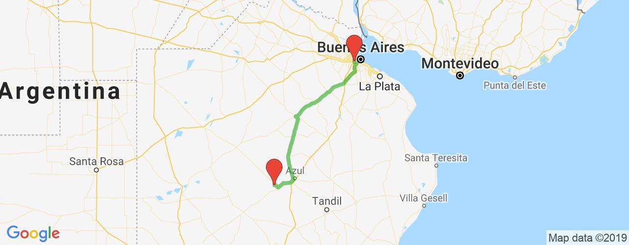 Comprar pasajes saliendo de Liniers a Olavarría. Pasajes baratos a Olavarría en bus precio y horario desde Liniers.