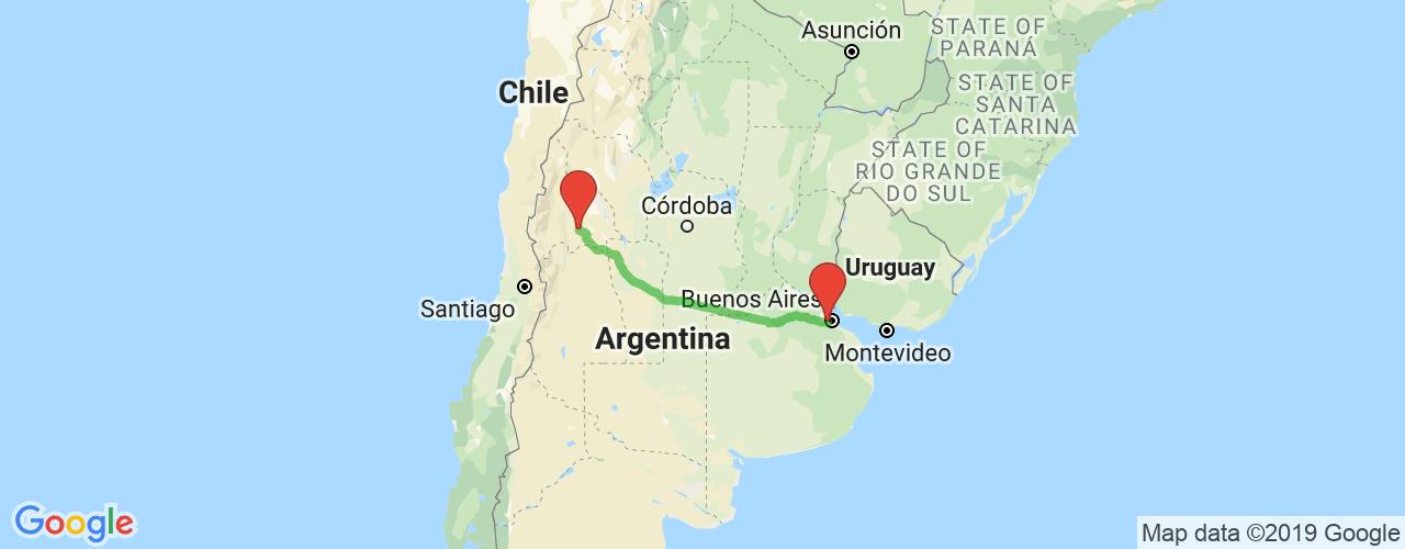 Pasajes baratos de micro de Liniers a San Juan. Los mejores precios desde Liniers, Buenos Aires a la provincia de San Juan.