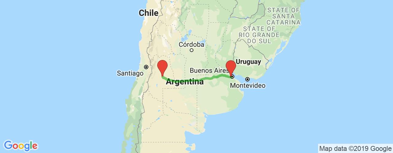 Comprar pasajes saliendo de Liniers a San Rafael. Pasajes baratos a San Rafael, Mendoza en bus precio y horario desde Liniers.