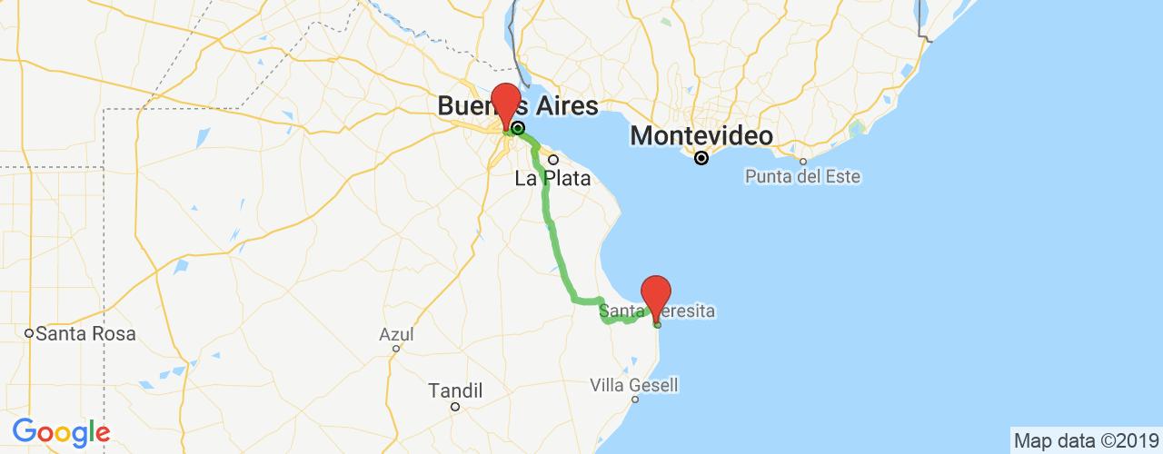 Comprar pasajes saliendo de Liniers a Santa Teresita. Pasajes baratos a Santa Teresita en bus precio y horario desde Liniers.