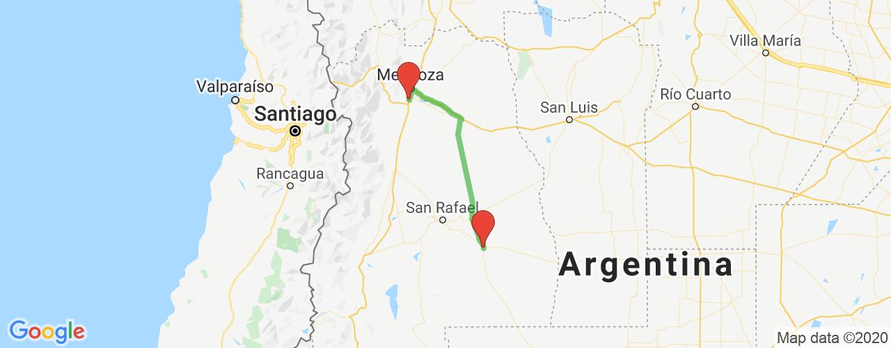 Comprar pasajes saliendo de Luján de Cuyo a General Alvear. Pasajes baratos a General Alvear en bus precio y horario desde Luján de Cuyo, Mendoza.