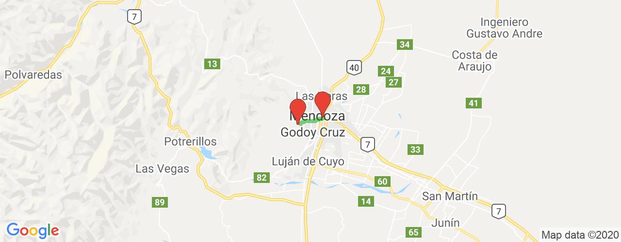 Comprar pasajes saliendo de Manantiales a Mendoza. Pasajes baratos a Mendoza en bus precio y horario desde Manantiales.