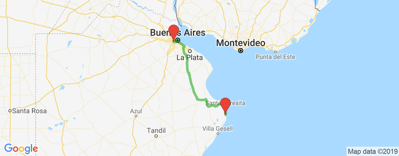 Comprar pasajes de Mar de Ajó a Liniers en micro. Pasajes baratos a Liniers en bus desde Mar de Ajó.