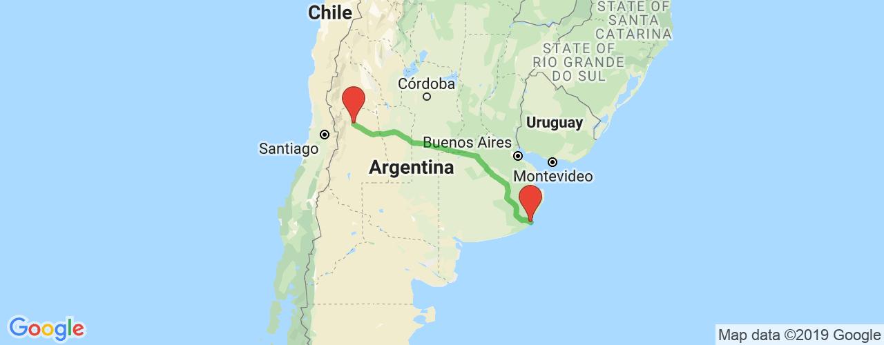Comprar pasajes saliendo de Mar del Plata a Mendoza. Pasajes baratos a Mendoza en bus precio y horario desde Mar del Plata.